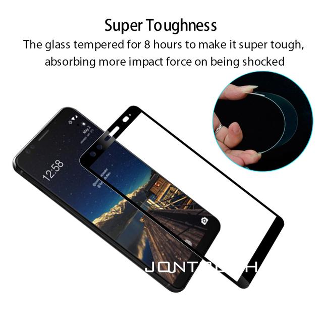 for HTC U ULTRA screen protector U12 D12 PLUS U PLAY U11 tempered glass full cover case friendly protective film accessaries