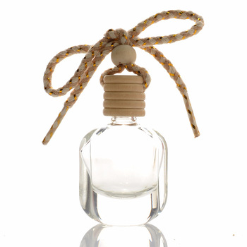 200 x 10ml Clear Empty Bottle Car Hanging Ornament Home Air Freshener Scent Diffuser Perfume Containers Packing Women Gifts