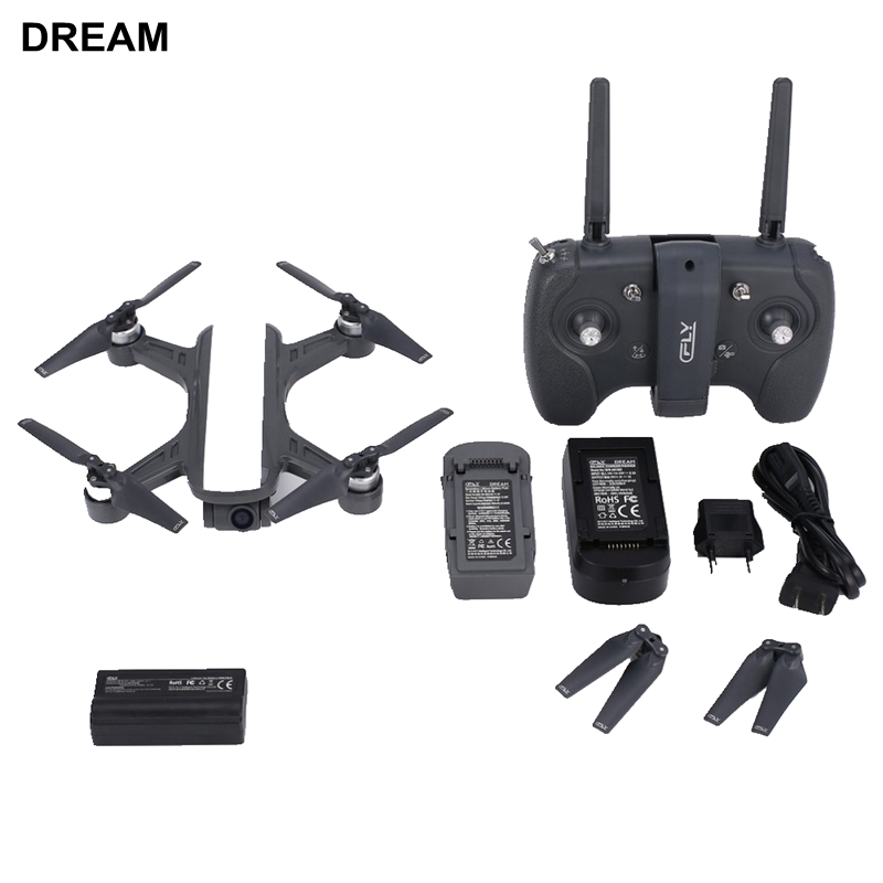 RC DRONE Camera Cfly-Dream Brushless-Motor C-FLY GPS Flying Follow Me WIFI Optical-Flow-Vs-F11