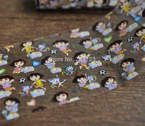 Fashion Nail Art Transfer Craft Foil Nail Sticker Tip Decorations