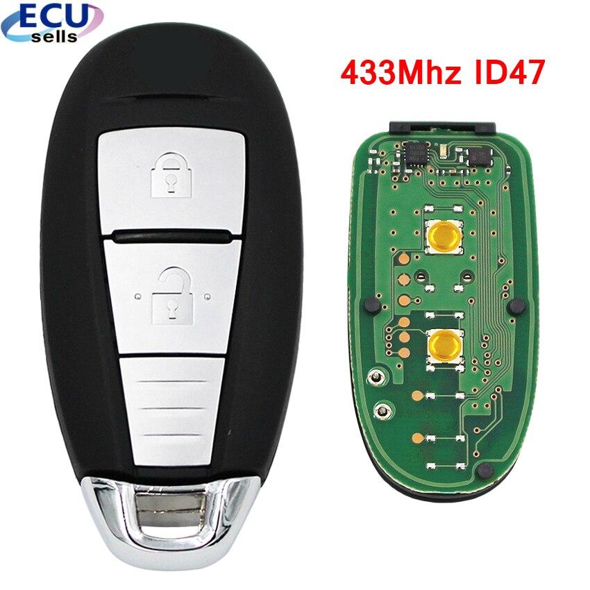 OEM Keyless Entry 2 Buttons Smart Key Card for Suzuki ...