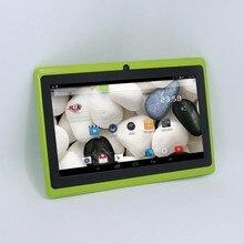 Tableta de 7 pulgadas tableta Quad Core Q88 Allwinner A33 Android 4.4 512 MB/8 GB 1024*600 2300 mAh de la tableta de la pc wifi linterna descuento grande #