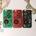 Роскошный DG классический Бренд Ручной Горный Хрусталь чехол для iphone6 плюс Натуральная кожа обложка чехол для iphone 6 s плюс 5.5 дюймовый