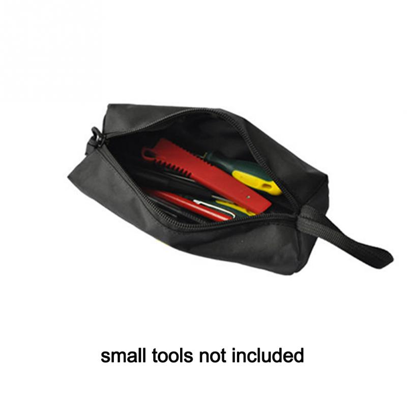 Waterproof Multifunction Oxford Screws Nails Drill Bit Metals Parts Fishing Hand Tools Storage Case Organizer Bag Pouch 5 Colors