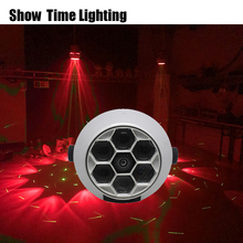 good effect Beam laser 2 IN 1 bee Moving Head Light with green 6x12W RGBW use for Party night club KTV home entertain