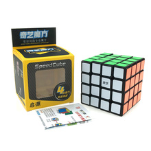 QIYI magic cube 4x4x4 Cube Puzzle Black White Professional Speed Magico Educational tricks For Children Toys