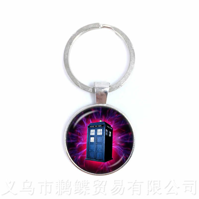 Bác sĩ Người TARDIS Cho cả Những Người Bạn Tốt Quà Tặng Lưu Niệm Tặng Thời Gian Và Tương Đối Kích Thước (S) Trong Không Gian Móc Khóa