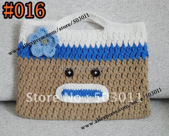 20pcssoooo Cute Crochet Owl Pursecrochet Knitting Cartoon Wallet