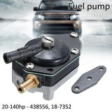 Outboard Fuel Pump with Gasket Durable Motorcycle Oil Pumps Vacuum Gas Racing 438556 388268 385781 394543
