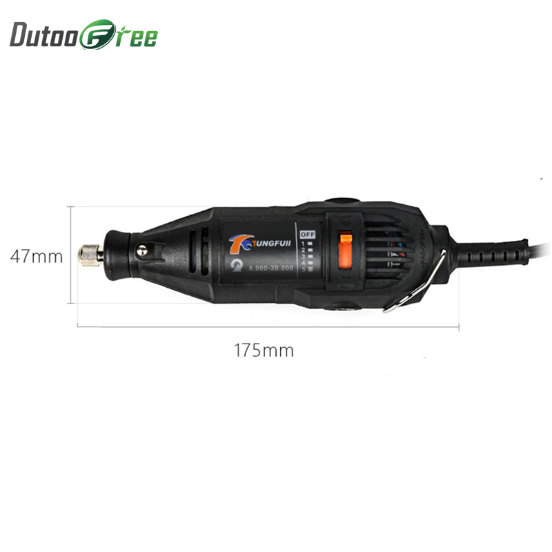 Dutoofree Power Tools Electric Mini Drill With Flex Shaft Rotary Tools Accessories For Dremel Drill Tools Electric Hand Drill