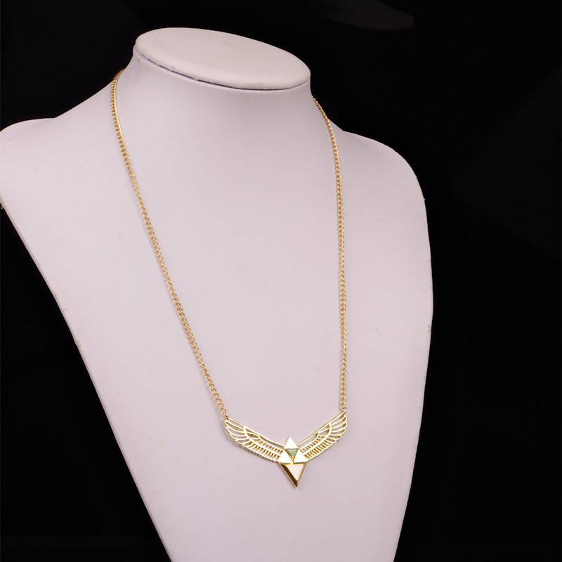 New Gold Color Eagle wings Pendant Simple and Stylish Chain ...