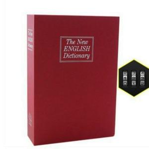 Image 4 - מילון מיני כספת ספר כסף להסתיר סוד אבטחה בטוח מנעול כסף מזומן מטבע אחסון תכשיטי מפתח הלבשה ילד מתנה DHZ002