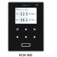 RCW 600 Thermometer Hygrometer Temperature Humidity Digital LCD WIFI Indoor Outdoor Remote Monitor Data Recorder With Clock