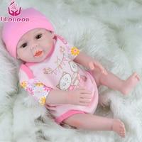 UCanaan Reborn Dolls Babies Handmade Soft Body New Reborn Babies Doll Toys 18 Inch 45 50CM