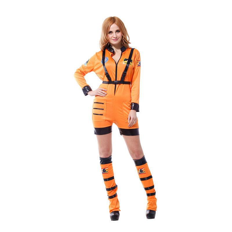 Woman Space Astronaut Polit Costume Halloween Party ... d444c9a8a