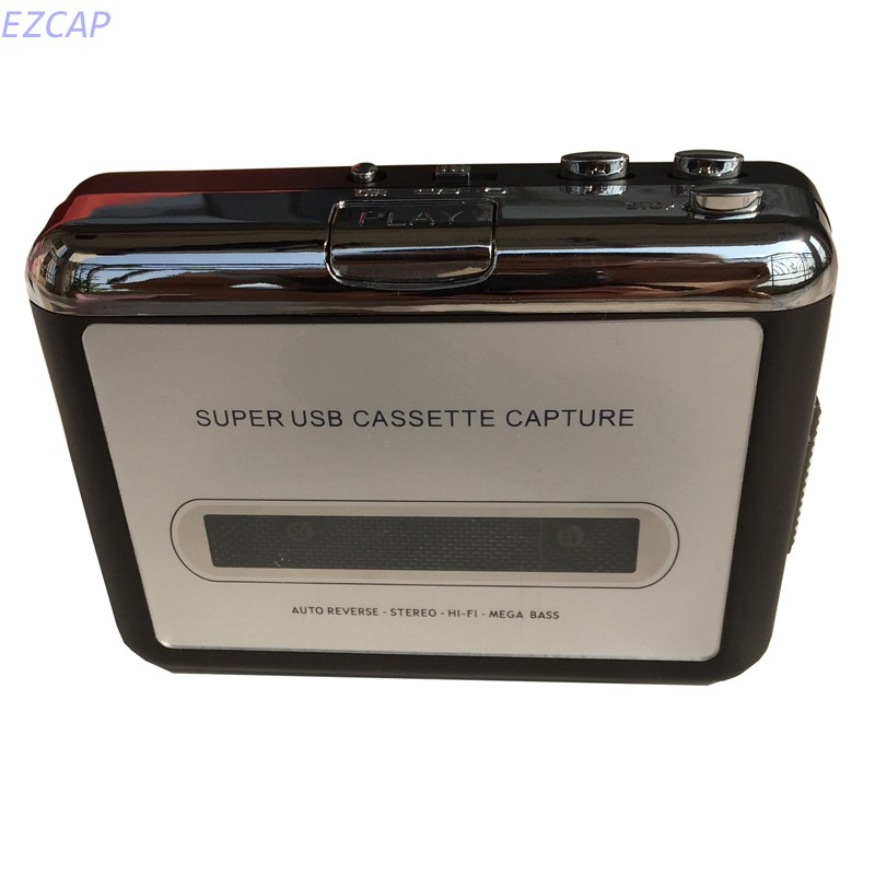 2017 new USB Cassette Walkman Player converter, convert olc tape to mp3 through PC for windows mac linux os free shipping