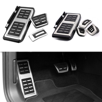 TTCR II Car Accessories for VW Volkswagen New Tiguan 2017 AT/MT Accelerator Brake Clutch Footrest Pedal Pad,Modify Plate Sticker