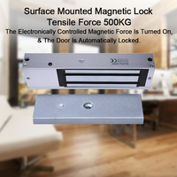 Eseye Electronic Magnetic Door Lock 12V 500KG(1200lbs) Access Control System Lock Single Lock High Quality Metal Magnetic Lock