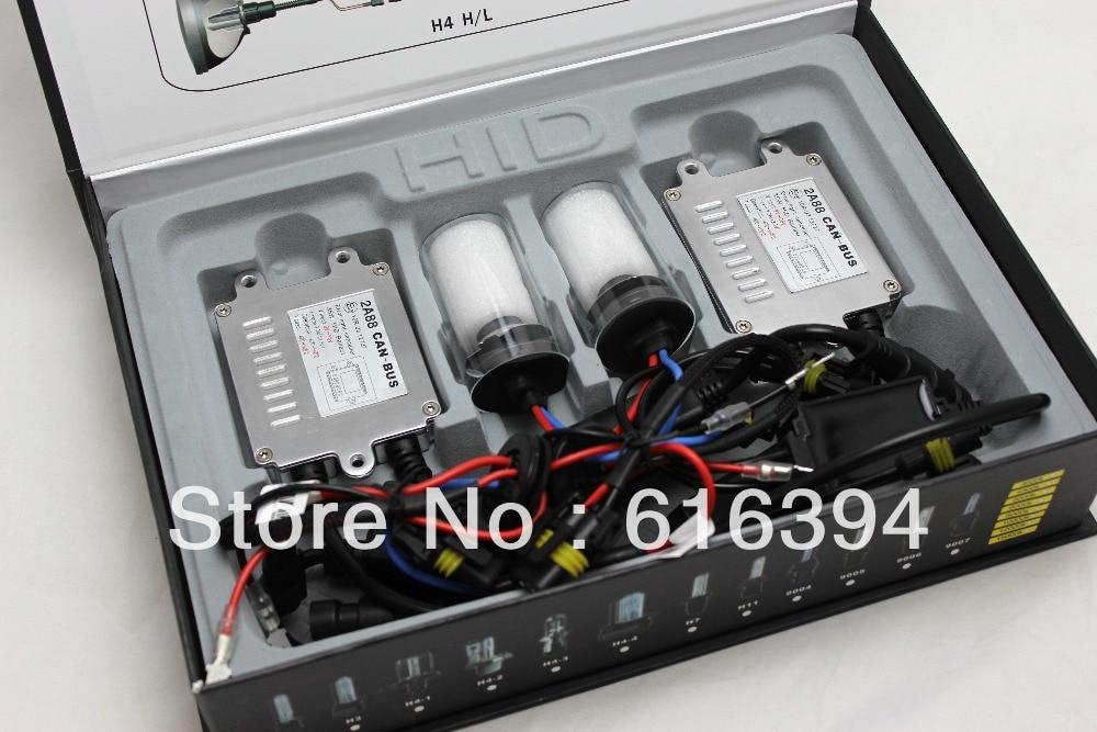 12V/35W Best Canbus HID KIT xenon kit  H4/H13/9004/9007/ Bi-Xenon 4300K/5000K/6000K/8000K/10000K/12000K + Free Shipping