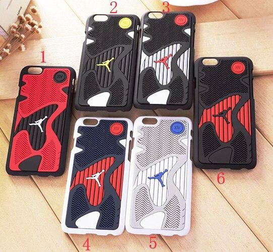 Hot 2017 NBA Jordan 14 Shoe Sole Rubber Mobile Phone Cases For Apple iPhone 6 6s 7 plus Case Cover Sport Basketball Jordan Case