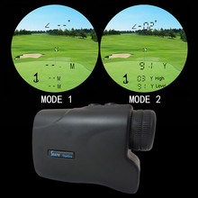 500M Hunting Laser Rangefinder Range Finder Golf Laser Angle Height Finder With Slope & Pinseeker Function