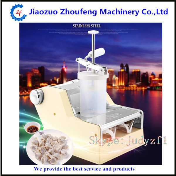 Household manual dumpling maker machine hand-cranked jiaozi pelmeni machine high quality household manual hand dumpling maker mini press dough jiaozi momo making machine