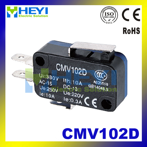 CMV102D Long handle small limit switch Momentary micro Switch