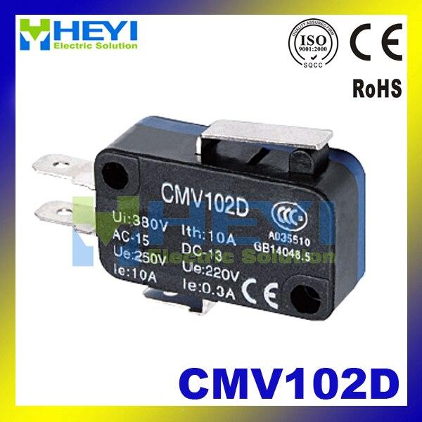 Cmv102d Длинные ручки маленькие концевой выключатель Мгновенный Микро-переключатель