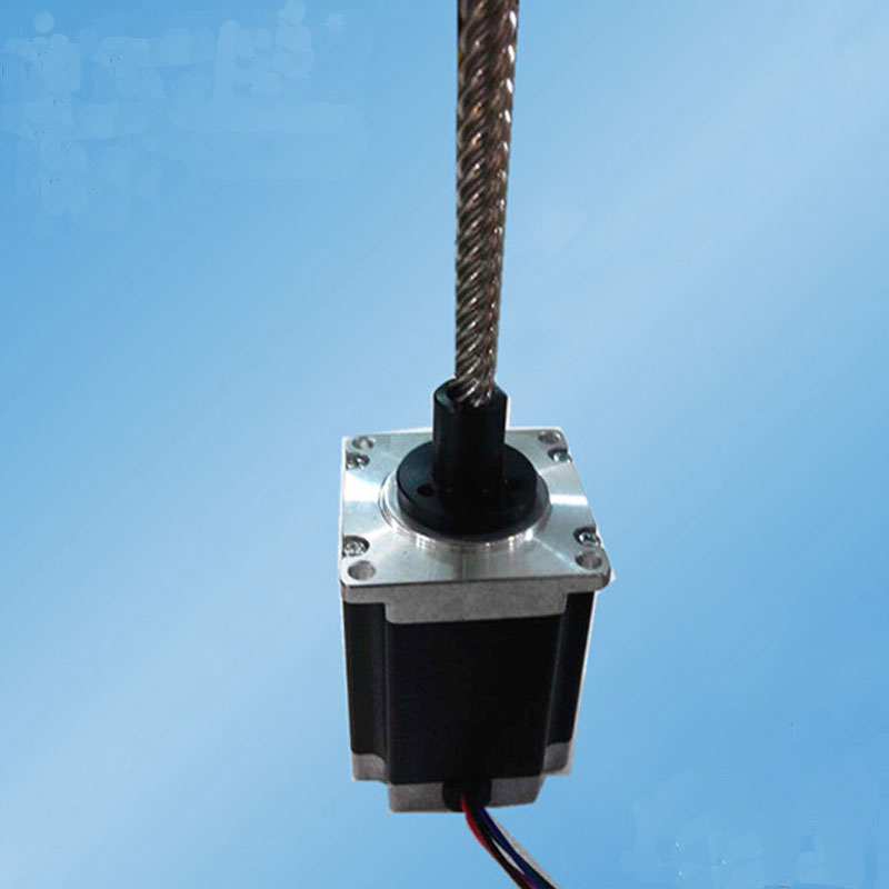 600W 4.8V 3.0Amp 1.5N.m length 300mm 57SHD4706 300NZ two phase hybrid linear stepping motor