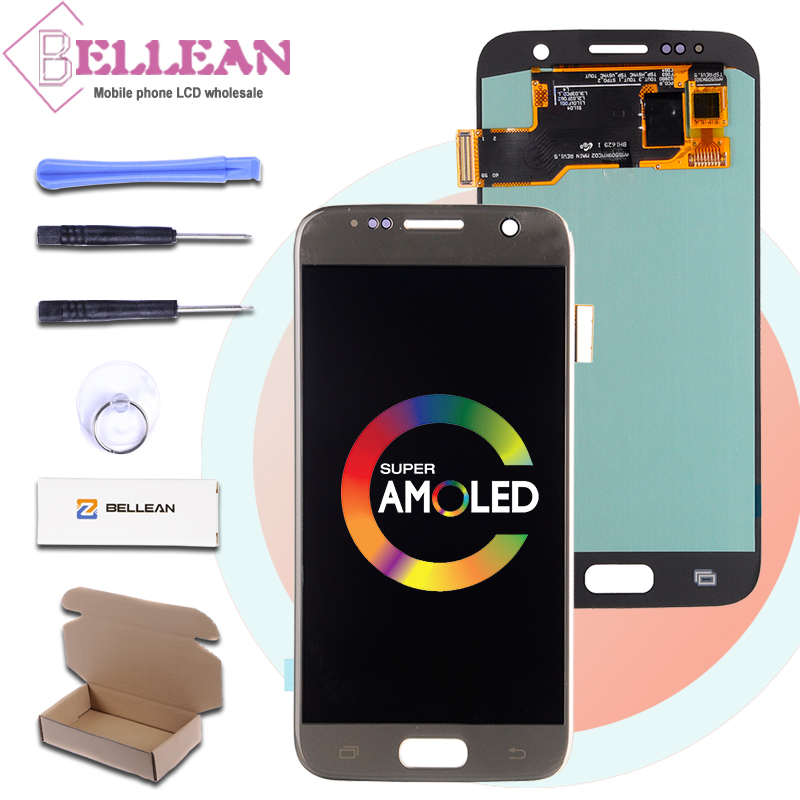 HH Promotion S7 Display For Samsung Galaxy G930 Lcd G930F G930L G930S Touch Screen Digitizer Assembly Replacement Free ShippingHH Promotion S7 Display For Samsung Galaxy G930 Lcd G930F G930L G930S Touch Screen Digitizer Assembly Replacement Free Shipping