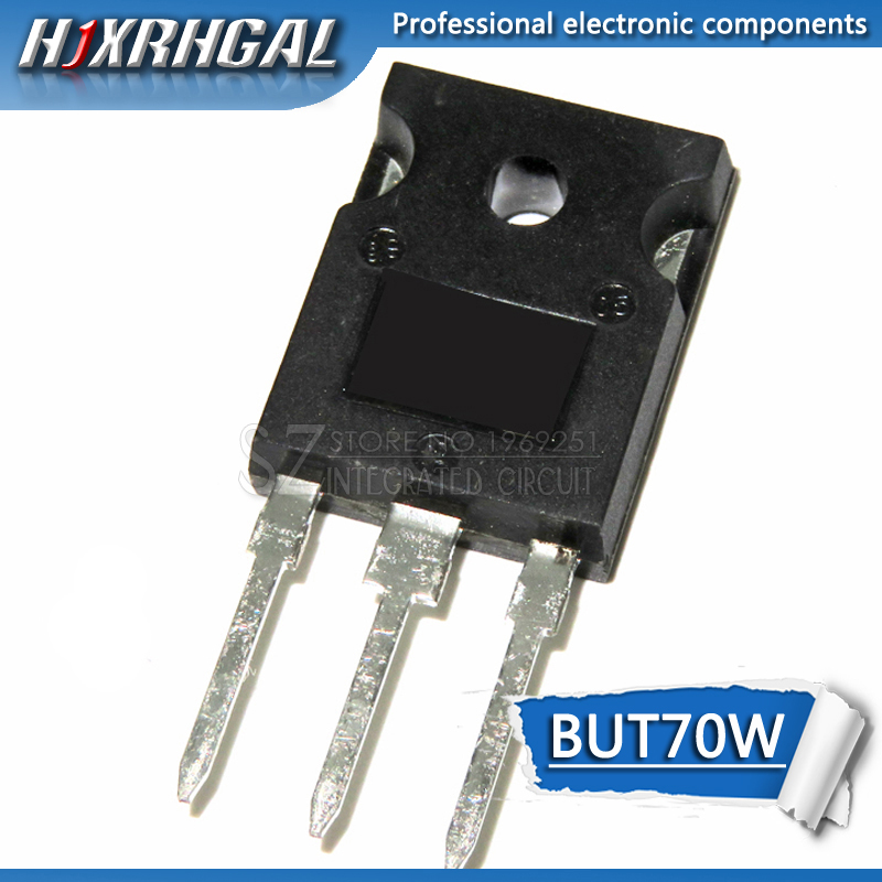 5pcs/lot High  NPN Transistor BUT70W New Original Free Shipping