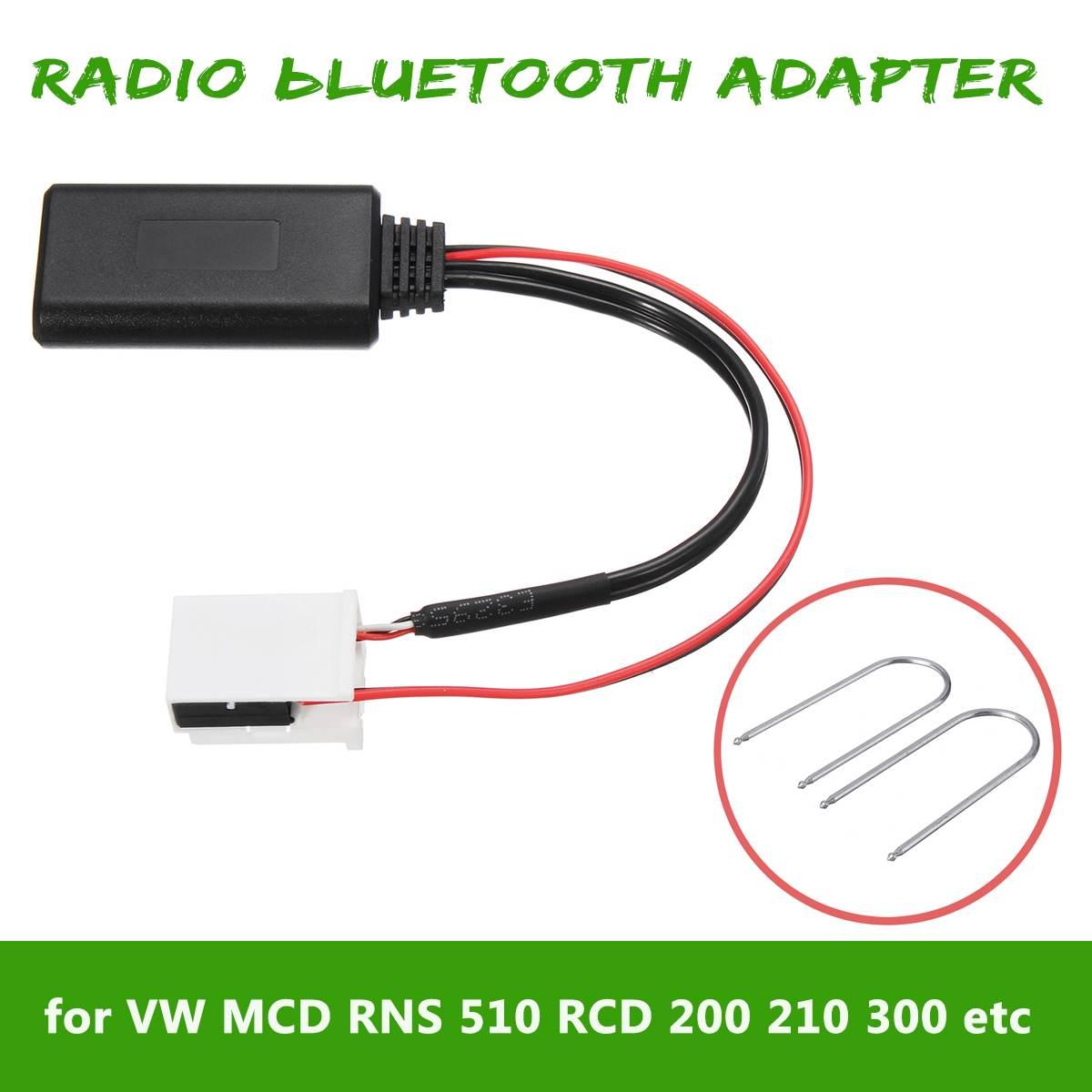 Bluetooth AUX In adaptateur Set VW rcd210 rcd310 rcd510 Audi Concert 3 Chorus 3 Radio