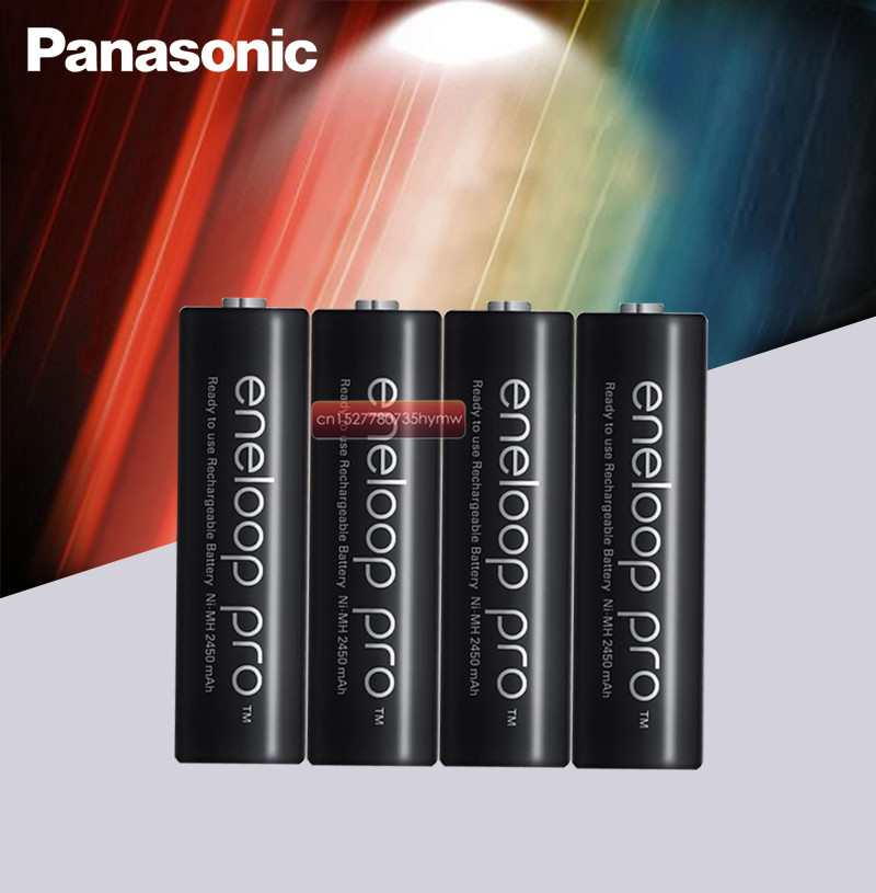 Panasonic Eneloop Original 2550mAh Batteries 1.2V NI MH Camera Flashlight XBOX Toy AA Pre Charged Rechargeable Battery|Replacement Batteries|   - title=