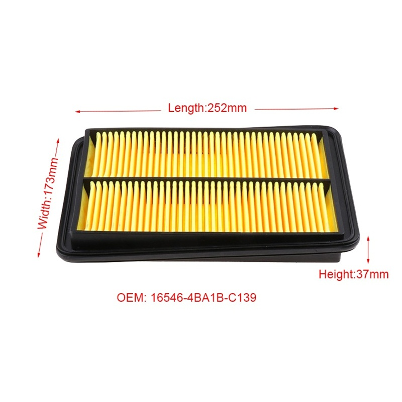 Image 3 - Car Engnie Air Filter Fit For Renault Kadjar 2.0L Nissans X TRAIL Qashqai  Model 2014 2015 2016 2017 2018 Air Filter Core Grid-in Air Filters from Automobiles & Motorcycles