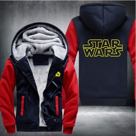 Star Wars Men Jacket Hoodie – Classic (4 styles)