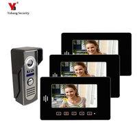 Yobang безопасности 7 видео открытый камера с Водонепроницаемый чехол от дождя камеры строительство дома видеодомофон дверной звонок телефон