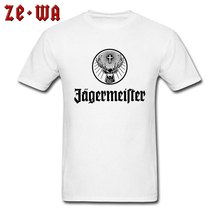 Jager-Meister Beer Pub Picture T-Shirts No Glue High Pixel Print Fashion Brand Tops & Tees Summer Autumn Men Father Tshirt Plus