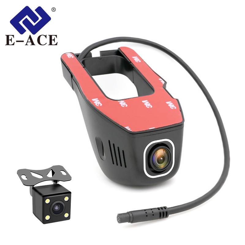 E ACE Car DVR Novatek 96655 SONY IMX 323 Hidden Registrator Camera Mini Auto Video Recorder