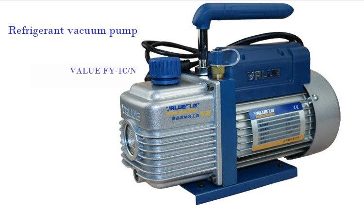 US $161 79 |Refrigerant vacuum pump FY 1C N ,car ,air conditioning cool  maintenance vacuum pump-in Pumps from Home Improvement on Aliexpress com |