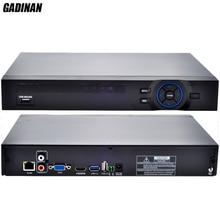 GADINAN ONVIF ВИДЕОНАБЛЮДЕНИЯ NVR 32CH 1080 P/8-КАНАЛЬНЫЙ 5 М/16CH 4 М Безопасности Сетевой Видеорегистратор HDMI 1080 P Выход full HD Поддержка Wi-Fi 3 Г RTSP