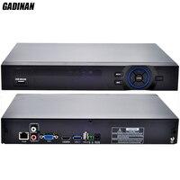 GADINAN ONVIF CCTV NVR 32CH 1080P 8CH 5M 16CH 4M Security Network Recorder HDMI 1080P Full
