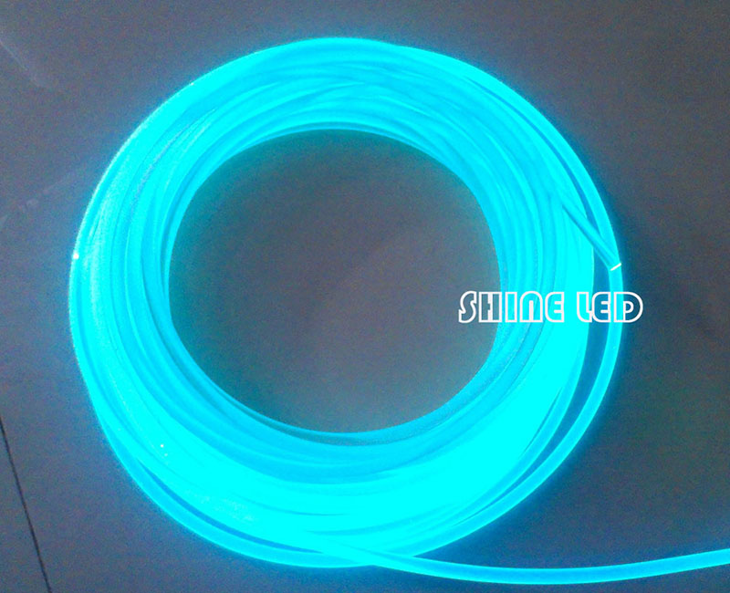 10.0mm Side Glow PMMA Fiber Optic Cable For Led Pool Lights Swimming Pool Lighting