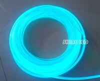 Brilho Lado 10.0 milímetros Cabo de Fibra Óptica PMMA para levaram luzes da piscina de natação iluminação da piscina cable bracelet glow in the dark clothes glow lanyard -