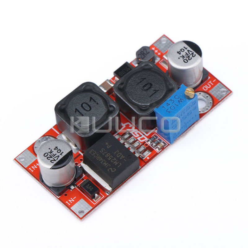 18W Adapter DC3~35V to 1.25~30V 2A Auto Boost/Buck Power Supply Module/Adjustable Voltage Regulator DC 5V 12V 24V Charger Module dc dc adjustable boost module 2a boost plate 2a step up module with micro usb 2v 24v to 5v 9v 12v 28v