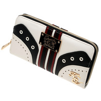 Suicide Squad Harley Quinn Wallet Pu Long Fashion Women Wallets Designer Brand Purse Lady Party