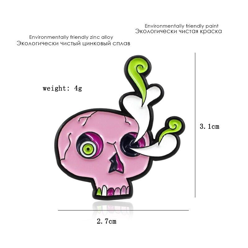 胸针头骨2