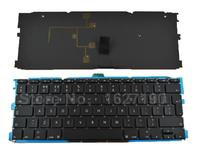 New UK Keyboard For Apple Macbook Air A1370 A1465 11 6 BLACK With Backlit Board Laptop