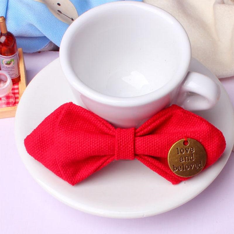Mantieqingway Bowtie para bebés niños de algodón ajustable - Accesorios para la ropa - foto 6