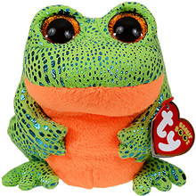 "Pyoopeo Ty Beanie Boos 6"" 15cm Speckles the Frog Plush Regular Soft Big-eyed Stuffed Animal Collection Doll Toy with Heart Tag(China)"