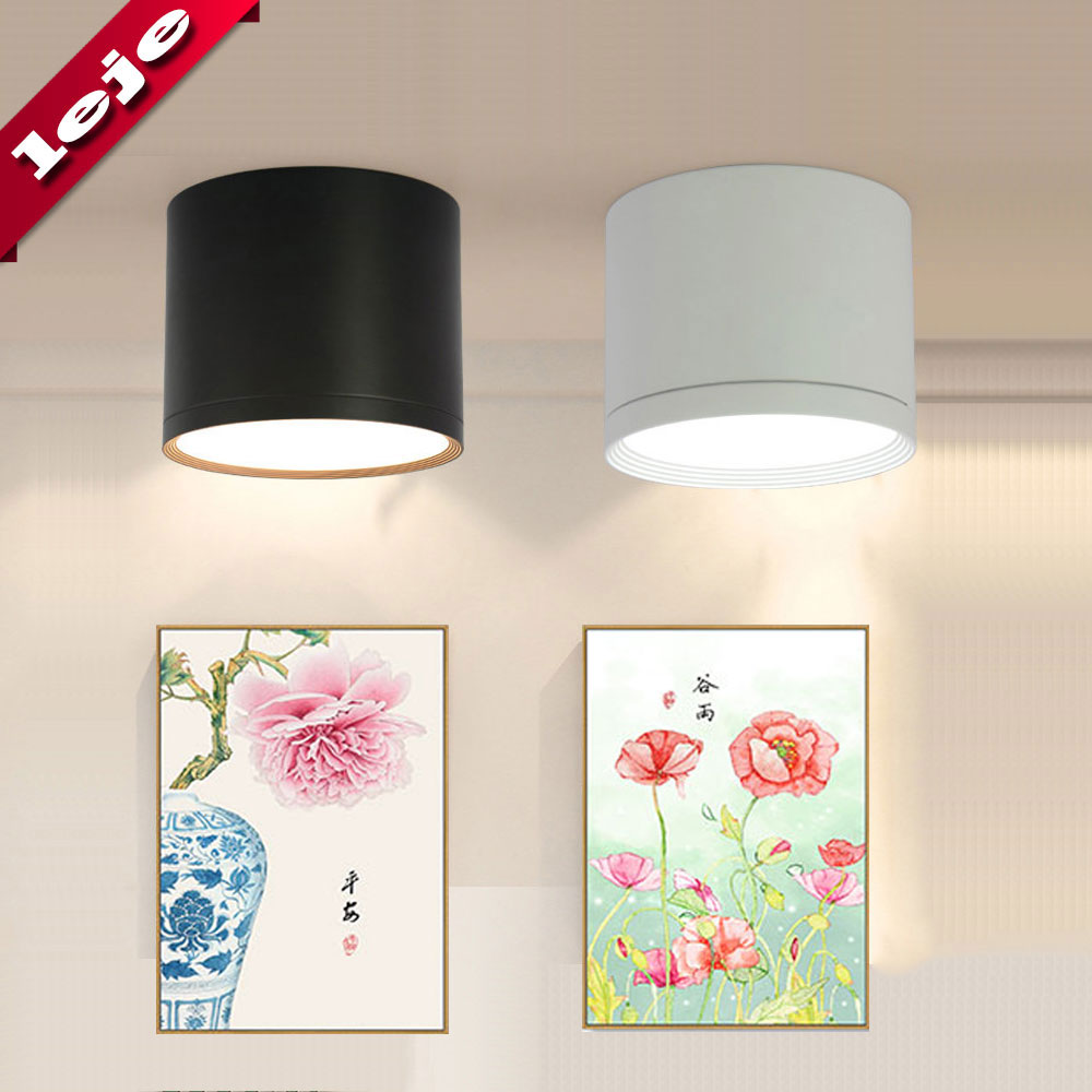 LED Ceiling light Surface mounted Dimmable Ceiling lamps Cylinder 7W 12W 15W for Bedroom Living room Innrech Market.com